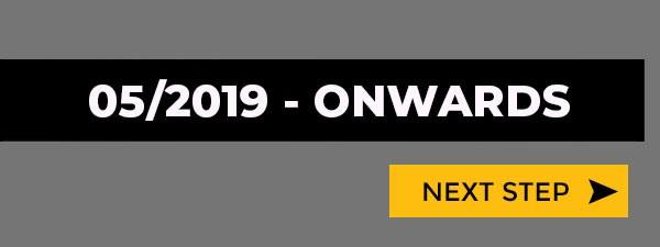 May 2019 Onwards