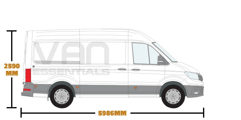 Medium Wheel Base (L3) , High Roof (H3)