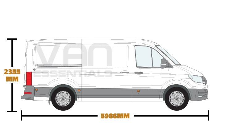 Medium Wheel Base (L3) , Low Roof (H2)