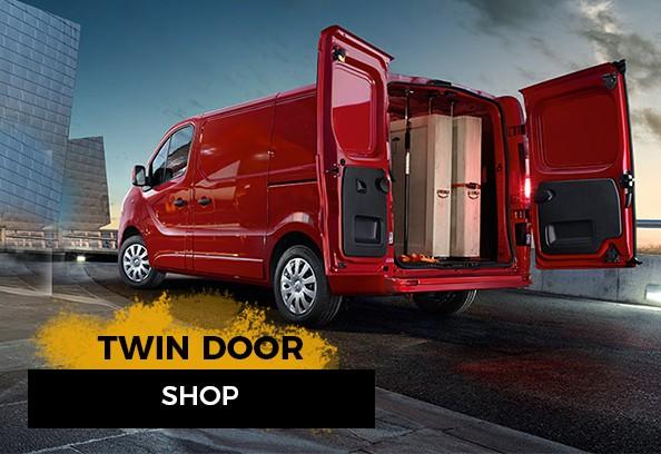 Twin Rear Door