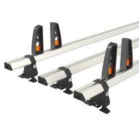 Peugeot Traveller Roof Bars (L3) XL 2016 On-3x Roof Bars Vecta Bars by Hubb