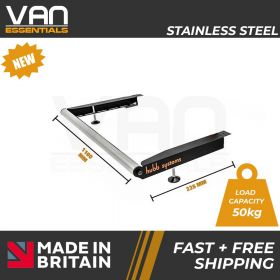 Volkswagen T6 2015 Onwards - Single Rear Door- Vecta Stainless Steel Roller