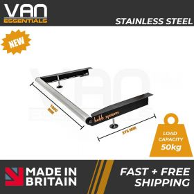 Nissan Primastar 2002-2014 - Long Wheel Base (L2) High Roof (H2) TWD - Vecta Stainless Steel Roller