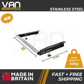 Vauxhall Movano 2010 Onwards - With Twin Rear Doors - Vecta Stainless Steel Roller