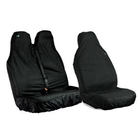 Driver & Passenger Double Seat Covers - Peugeot Expert 2007 Up to 2016 - The Original Town & Country Seat Cover.