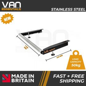 Volkswagen T5 2002 Up To 2014 - With Twin Rear Doors - Vecta Stainless Steel Roller
