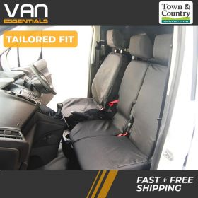Transit Connect Seat Cover-Driver & Double Passenger Seat- TREND Model only 2014 Onwards-The Original Town & Country Seat Cover.