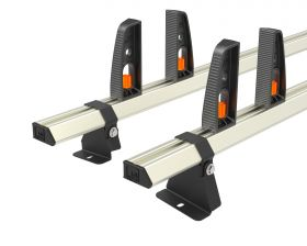 Ford Transit Roof Rack,2014 Onwards L4 Jumbo - 2x Roof Bars Vecta Bars by Hubb