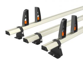 Ford Transit Roof Rack,2014 Onwards L4 Jumbo - 3x Roof Bars Vecta Bars by Hubb