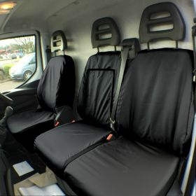 Tailored Fit Iveco Daily Seat Cover-Drivers & Passenger Seats-2014 Onwards-The Original Town & Country Seat Cover.