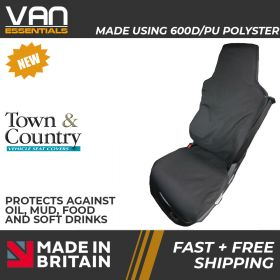 Seat Cover for MAN Truck Single Passenger Seat Cover -Original Town & Country