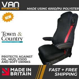 Seat Cover for Mercedes Actros and Antos Euro 6 Truck Passenger Seat  -Original Town & Country
