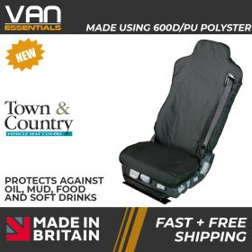 Seat Cover for Iveco ISRI 6860/875 RHD Truck Driver Seat -Original Town & Country