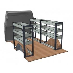 Ford Transit Custom 2013 Onwards, L1 Short Wheel Base - H1 Low Roof - Modular Van Shelving Kit