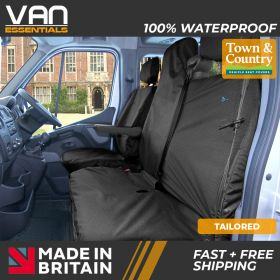 Driver & Passenger Double Seat Cover - Renault Master 2011 Onwards - The Original Town & Country Seat Cover.