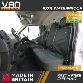Driver & Passenger Double Seat Cover-Vauxhall Movano 2014 onwards- The Original Town & Country Seat Cover.