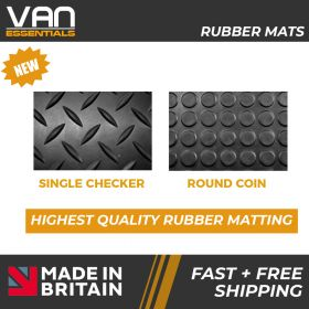 Toyota Hi- Ace Floor Mats - 2008 Onwards - Rubber Floor Mats