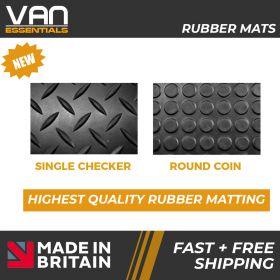 Vauxhall Vivaro Front Floor Mats - 2014 – July 2019 - Rubber Floor Mats