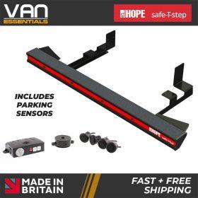 Nissan NV400 2010 onwards, all wheelbase models, FWD,SRW, - Hope safe-T-bar straight step -LVB-3630-PDM