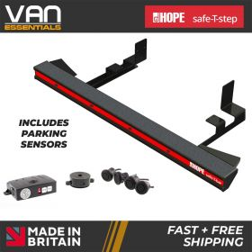 Renault Trafic 2014 onwards all wheelbase models - Hope safe-T-bar straight step -LVB-3980-PDM
