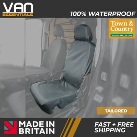 A Tailored fit Citroen Nemo Seat Covers-2008 Onwards- Small Folding Passenger Seat-Original Town & Country Seat Cover.