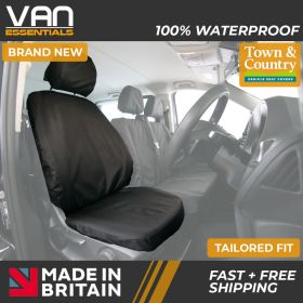 Mercedes Sprinter 11/2018 Onwards Tailored Fit Seat Cover-Driver or Single Passenger Seat-3rd Generation