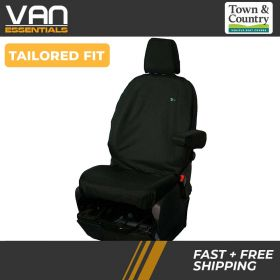 Driver or Passenger Single Front Seat Cover -Transit Custom 2013 Onwards - The Original Town & Country Seat Cover.