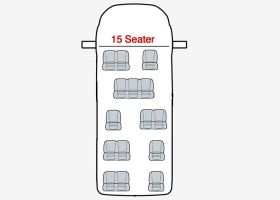 Ford Transit Seat Covers-2000 Up To 2014-15 Seat Minibus-The Original Town & Country Seat Covers.