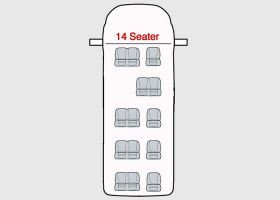 Ford Transit Seat Covers-2000 Up To 2014-14 Seat Minibus-The Original Town & Country Seat Covers.