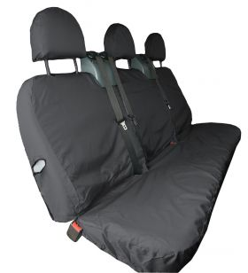 3 Seat Crew Cab Seat Cover - Ford Transit up to 2014-The Original Town & Country Seat Cover.