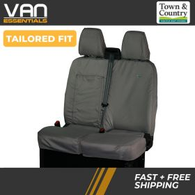 Double Passenger Front Seat Cover - Ford Transit-2014 Onwards-The Original Town & Country Seat Cover.