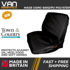 Seat Cover for Double Passenger Truck/Lorry Seats-Original Town & Country (See Cover Dimensions)