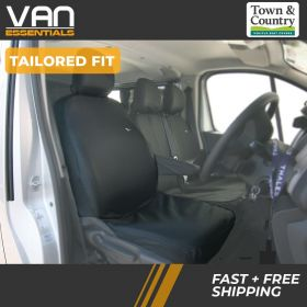 A Tailored Fit Seat Cover for the Renault Trafic 2014 Onwards Drivers Original Town & Country Seat Cover.
