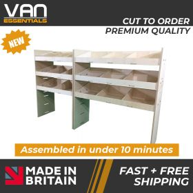 Birchwood Ply Racking Unit Overall size, (W) 1750mm x (H) 1087mm x (D) 384mm