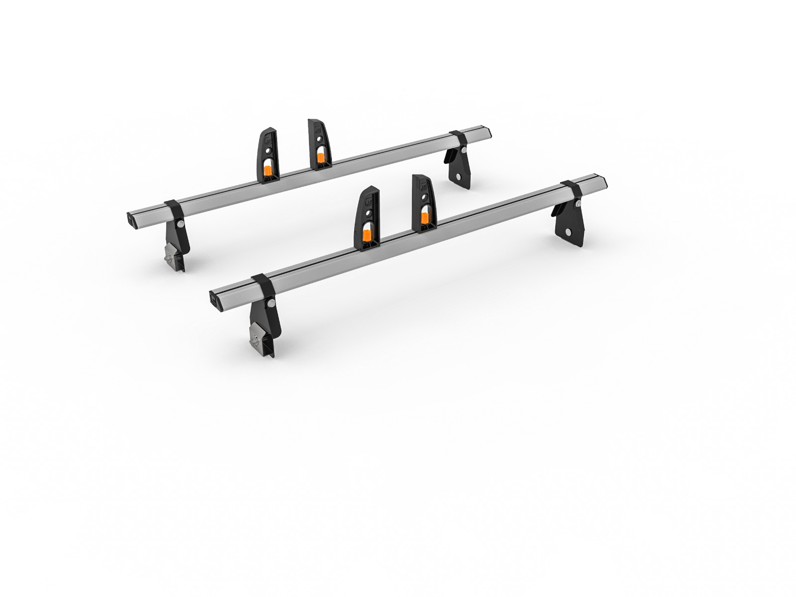 Ford Transit Roof Rack (H2) Med Roof 2000-2014-2x Roof Bars Vecta Bars by Hubb