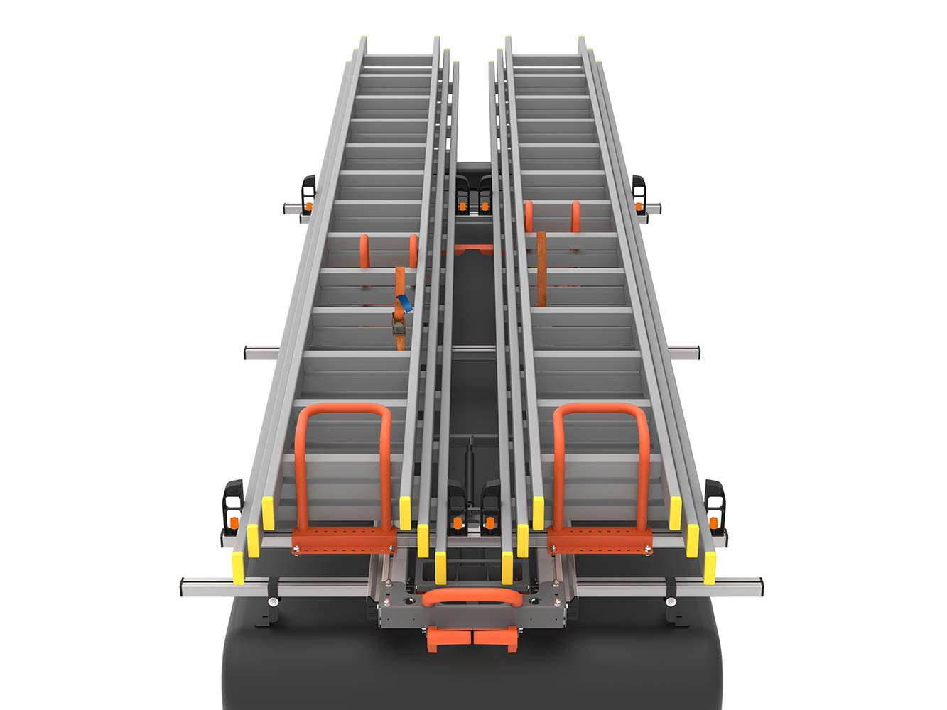 Ladder Loading System-Hubb Product's Load Lite-2.5 Metre Twin Ladder