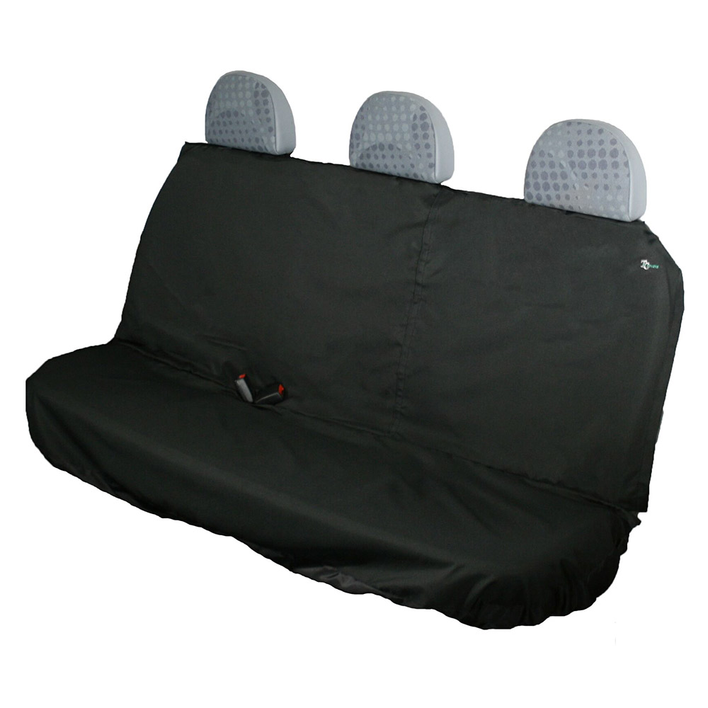 Rear Crew Seat Black Town and Country Covers