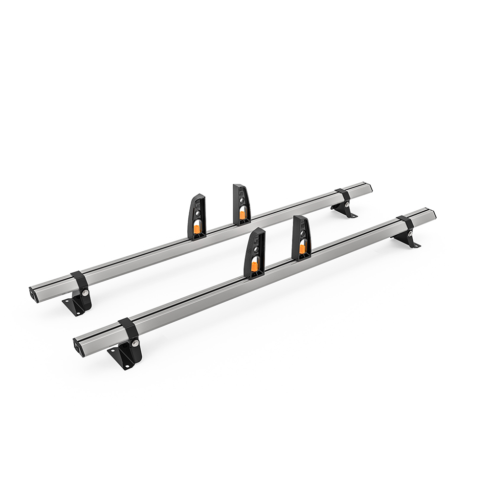 Renault Trafic Roof Rack,2002-2014 High Roof 2x Roof Bars Vecta Bars by Hubb