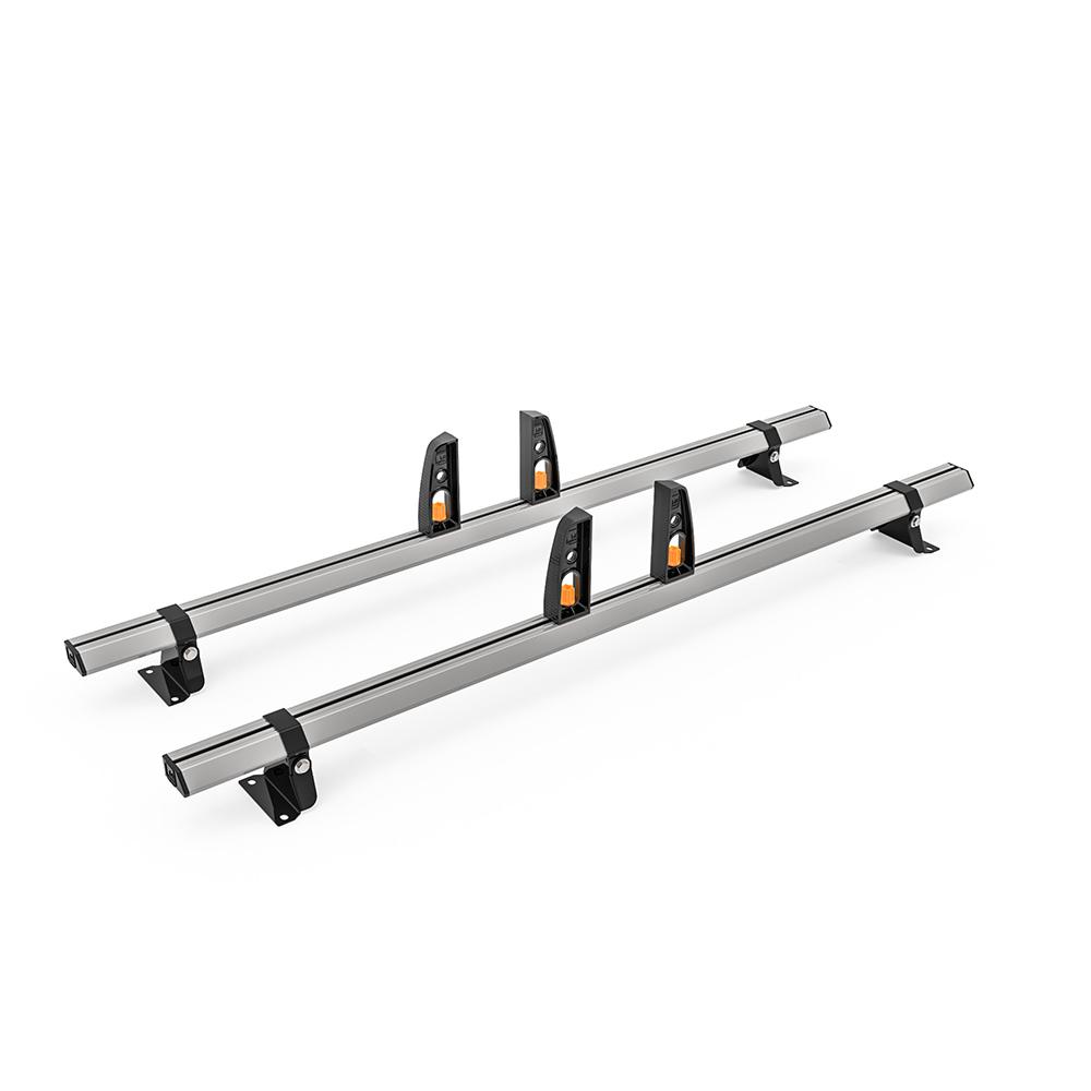 Vauxhall Vivaro Roof Rack,2014 – July 2019 High Roof 2x Roof Bars Vecta Bars by Hubb